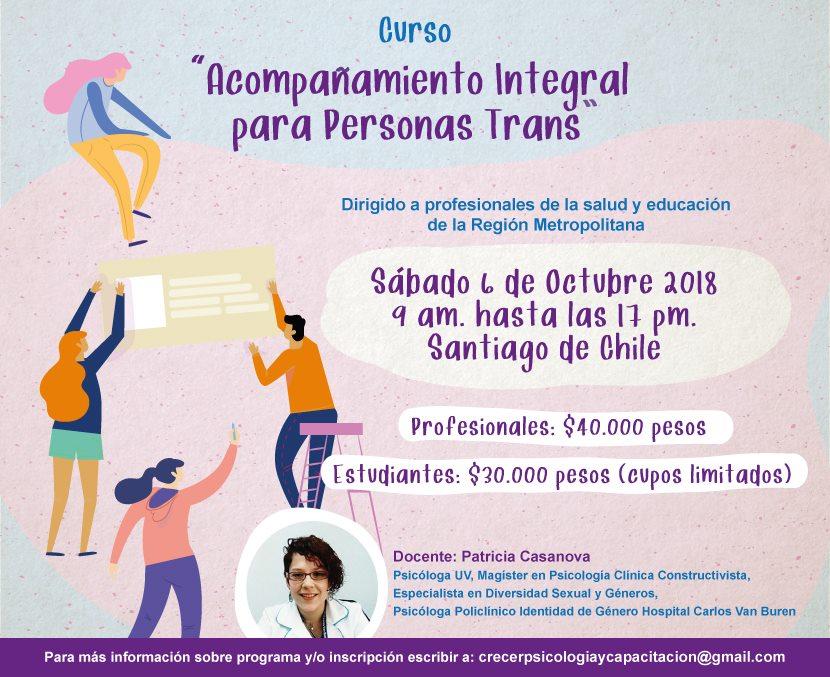 Próximo Curso Santiago OCTUBRE 2018